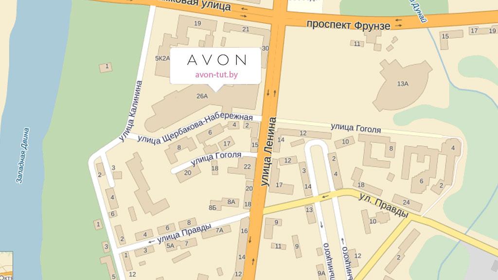Карта Витебск 1024x575